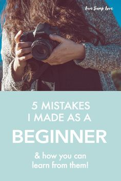 Making mistakes is all part of the process of learning photography! Discover the 5 mistakes I made when starting out, along with photography tips to help you avoid them.