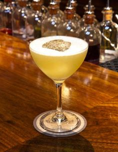 """<p>The U.S. goverment lifted its century-long ban on absinthe in 2007, and now there's a holiday (aka marketing ploy) devoted to it. In honor of National Absinthe Day (March 5), try making this cocktail, the Immigrant, from NYC's <a href=""""http://www.deadrabbitnyc.com/"""">the Dead Rabbit</a>.</p> <p><strong>Ingredients</strong></p> <p>1.5 oz Nettle Tea infused Jameson Black Barrel</p> <p>.5 oz Elderflower Liqueur</p> <p>.25 oz Pernod Absinthe</p> <p>1 oz fresh lemon juice</p> <p>.5 oz fennel…"""