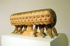 wooden sculpture - 9