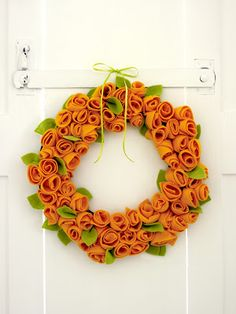 COUTURE CRAFT: YELLOW ROSE WREATH