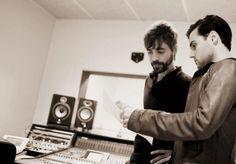 Grabación de voces en Jkmusic. Producción musical de GuitarRec.com