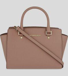 0b88819ed MICHAEL MICHAEL KORS - Selma medium Saffiano #leather satchel |  Selfridges.com affordable fall #handbags