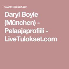 Daryl Boyle (München) - Pelaajaprofiili - LiveTulokset.com