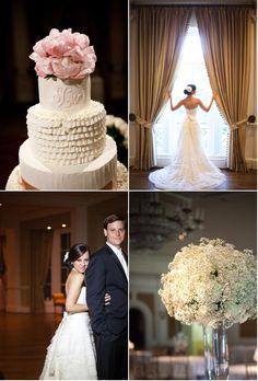 a simple, yet elegant evening with soft details and a romantic ambiance (wedding video)