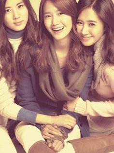 My favourite triplets!! Yoonyulseo <3  (Yoona/Yuri/Seohyun) #kpop #girlsgeneration #snsd