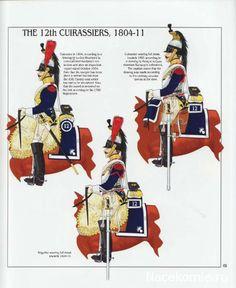 Corazzieri del 12 rgt. corazzieri dal 1804 al 1811