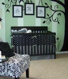 Elegant baby boys nursery