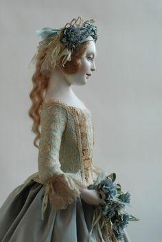 Pretty Dolls, Beautiful Dolls, Paperclay, Doll Maker, Bjd Dolls, Ball Jointed Dolls, Miniature Dolls, Beautiful Artwork, Antique Dolls