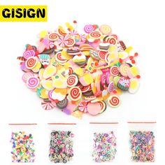 Slime charms Sand Model Clay Tools Slime Indoor Light Plasticine Air Magic Sand Soft Clay Charms Slime Supplies Kids Toys 47