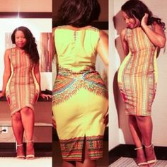 must have ~African Prints, African women dresses, African fashion styles, african clothing