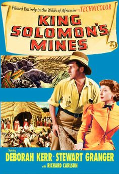 1950s Movie Posters | King Solomon's Mines Movie Posters From Movie Poster Shop