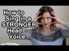 how to sing This singing tips video is about how to pump more power into your head voice! These 3 tips will help you focus your resonance and bring power to your head voice without straini Vocal Lessons, Singing Lessons, Singing Tips, Music Lessons, Learn Singing, Singing Quotes, Violin Lessons, Singing Exercises, Vocal Exercises