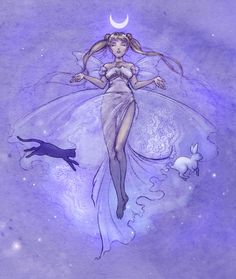 Sailor Moon - Serenity by ~Mikadze ANIME. SAILOR MOON. Pinned from Stephy Sama