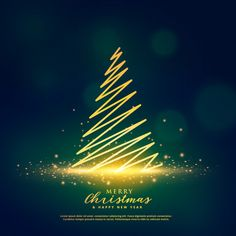 christmas tree vector Creative christmas tree design on glowing glitter sparkles Vector Disney Christmas, Christmas Sale, Christmas Cards, Vector Christmas, Christmas Graphic Design, Christmas Tree Design, Red Christmas Background, New Year Art, Creative Christmas Trees