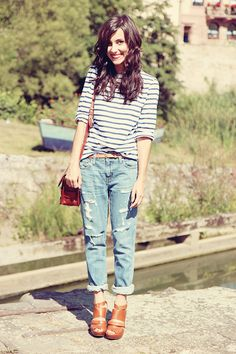"""love this grunge look. Or as my sister coined the phrase """"Hobo Chic' """""""