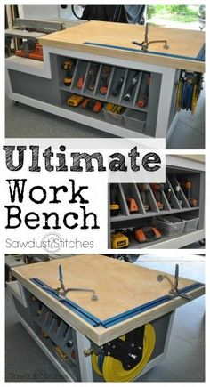 Ultimate assembly table Sawdust2stitches