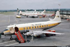 Vickers 748D Viscount aircraft picture