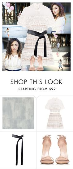 """""""Alex G~Karey Ray Photography"""" by tvshowobsessed ❤ liked on Polyvore featuring Designers Guild, self-portrait, Michael Kors and Stuart Weitzman"""