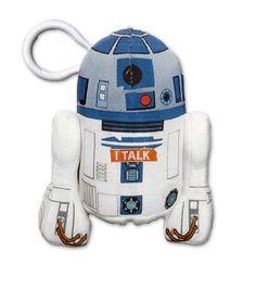 LLavero peluche R2D2, con sonido de 11cm. Star Wars Episodio VII Divertido llavero peluche de 11 con sonido perteneciente al personaje R2D2, basado en la saga de Star Wars Episodio VII.