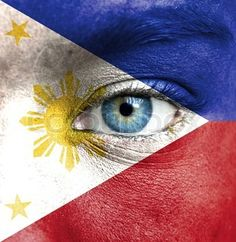 Philippine Flag face painting Images Wallpaper, Baybayin, Flag Face, Flag Vector, Pinoy, Image Collection, Egypt, Graffiti, Philippines