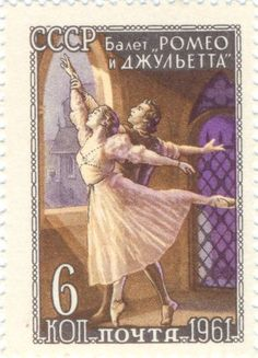 "Russia - Scene from the ballet ""Romeo and Juliette"