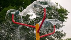 DIY Backyard Water Park | Make your own with PVC piping. Water park image courtesy of Flickr at ...