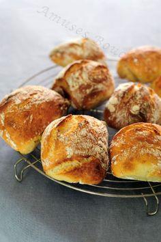 pain- plus de sel et 30 min cuisson