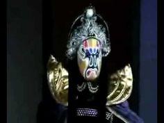 The Mask. Incredibly fast !!!  Vertiginoso cambio de mascaras
