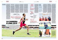 Diseño Editorial para revista Domingo. Puede ver más páginas en www.columnasymodulos.blogspot.com
