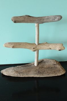 Large Driftwood Jewelry Holder / Bracelet & by StrollinTheBeach