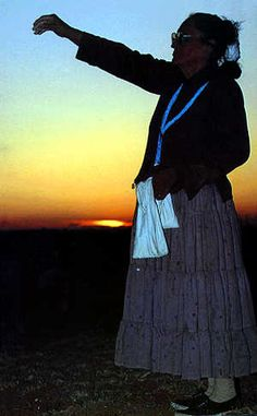 """""""I ask all blessings/I ask them with reference/of my mother earth/of the sky, moon, and sun my father/All is peaceful, all in beauty/all in harmony, all in joy."""" Navajo prayer (Navajo woman, morning blessing)"""