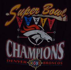 Denver Broncos Short Yardage T-Shirt - Gray