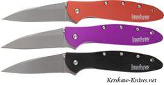 Three new Kershaw Leek knives added to Kershaw-Knives.net