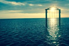 Sunset Gili Island, Seattle Skyline, Islands, Celestial, Sunset, Travel, Outdoor, Indonesia, Outdoors