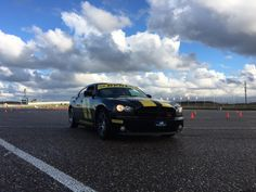 Ford Mustang, good for a drag race competition!