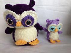 Nelson the Owl & Nel the Little Owl (FreshStitches)