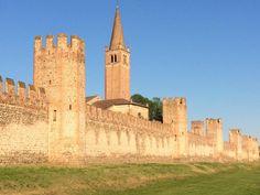 La meravigliosa cinta muraria di Montagnana, orgoglio del #Veneto e dell'#Italia #viaggiare #viaggi @TurismoVeneto