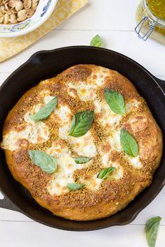 Pistachio Pesto Pizza