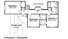 Plan 4153DB: Appealing Two Story Design