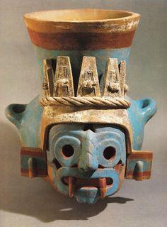 "Mexico: origins of the Aztecs ""by ignacio Garcia Bernal y Pimentel & Mireille Simoni-Shade. Gallimard, 1986."