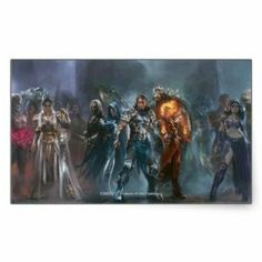 Magic: The Gathering - Planeswalker Tableau Rectangle Sticker by Zazzle. $4.95. Magic: The Gathering - Planeswalker Tableau Created by magicthegathering Keywords: planeswalker tableau, magic planeswalker tableau, magic the gathering planeswalker tableau, magic, magic the gathering, card, deck, theme, trading, game, collectible, cool, geek, nerd, tech, fantasy, rpg, role, playing, online, artwork, multiverse, dungeons, dragons, mtg, mana, dominia, planes, planeswe...