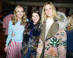 Rachelle Hruska MacPherson, Rachel Blumenthal, and Vogue's Selby Drummond