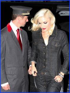 Gwen Stefani: No Doubt about it, the Hôtel Plaza Athénée is magnifique.