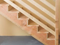 Elegant How To Install Basement Stairs