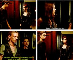 haha, I love Alec's sass and Simon and Clary's ractions... #fabulous