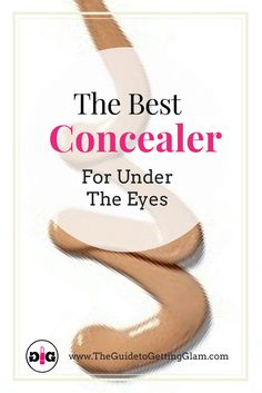 Concealer Tips: The Best Concealer for Under the Eyes. Learn these makeup artist tips for how to apply concealer under the eyes and find out which is the best concealer for the under eye area. Party Makeup Looks, Makeup Looks For Green Eyes, Bridal Makeup Looks, Pretty Makeup, Best Under Eye Concealer, How To Apply Concealer, Makeup Artist Tips, Makeup Tools, Makeup Products