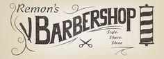Logo: Remons Barbershop on Behance