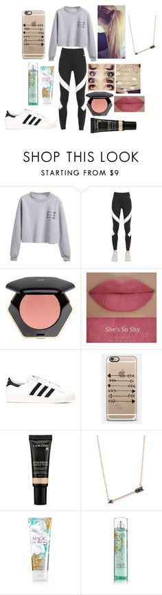 """Cutting like an Arrow"" by look-in-the-clouds ❤ liked on Polyvore featuring NIKE, H&M, adidas Originals, Casetify, Lancôme and Sydney Evan"