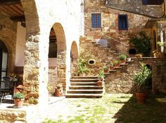 Apartment in Colle di Val d'Elsa, Italy. Apartment in a small Medieval village. The building was a Benedectine Monastery. Montegabbro is in the hearth of Tuscany, it's at 15 mins by car to San Gimignano, Volterra and Colle di Val d'Elsa. Siena is at 30 mins, Florence is at 45 minutes.  A... - Get $25 credit with Airbnb if you sign up with this link http://www.airbnb.com/c/groberts22
