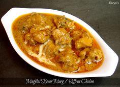 Mughlai Kesar Murg / Saffron Chicken